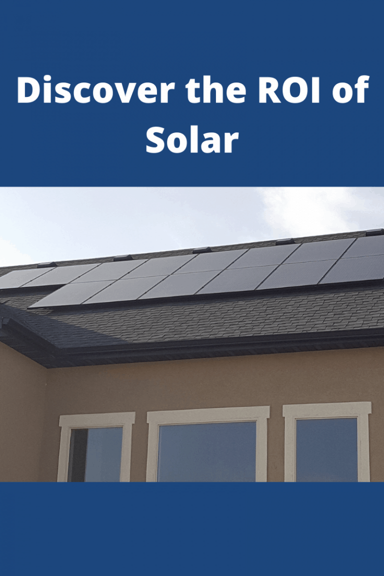 Discover the ROI of Solar