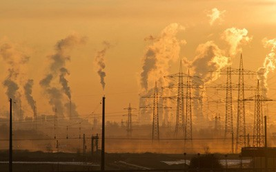 Industry pollution from energy creation