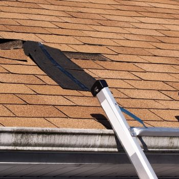 This busted roof makes solar panels look way better by comparison