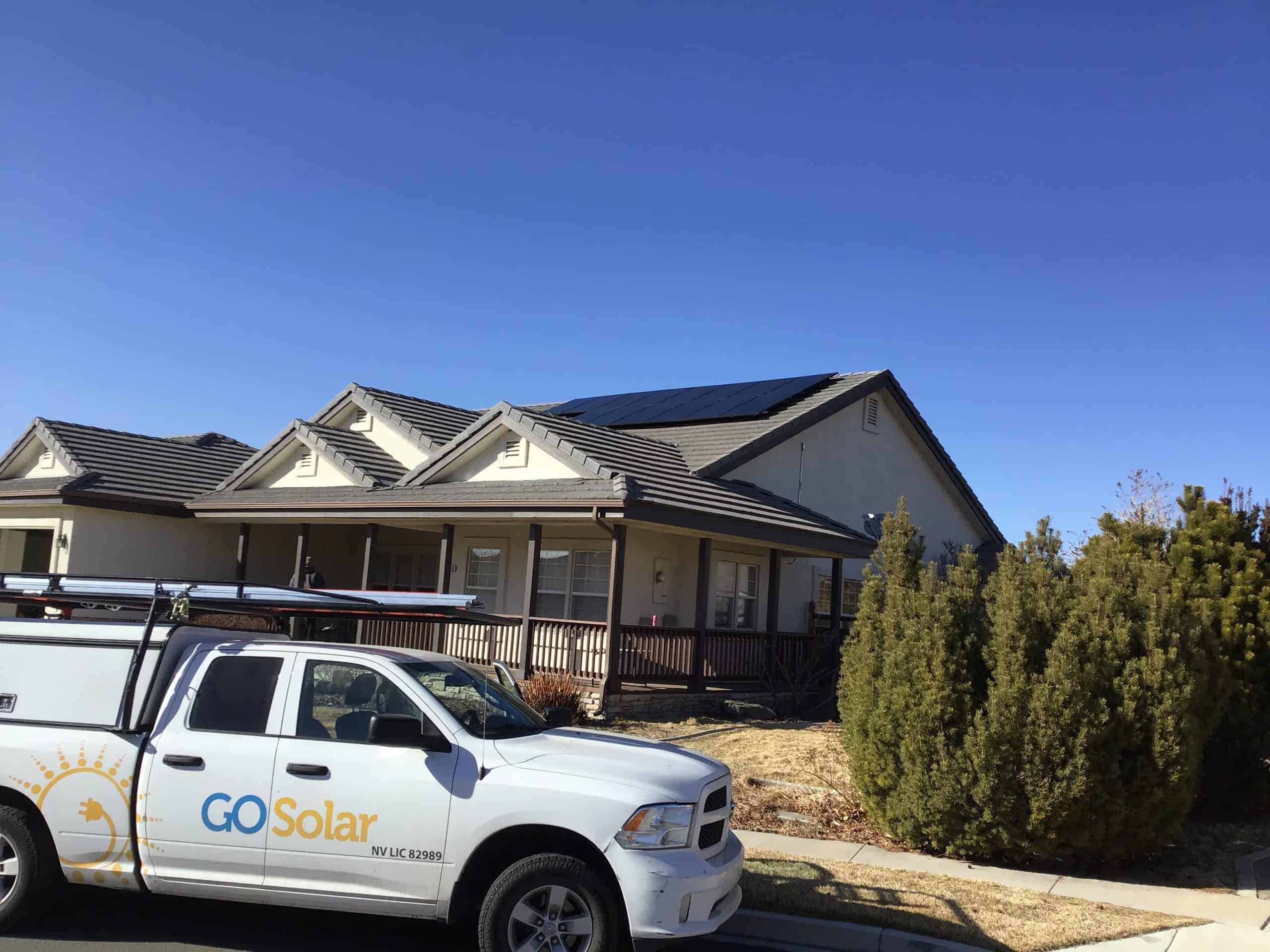 Nevada Solar Installation by Go Solar Group